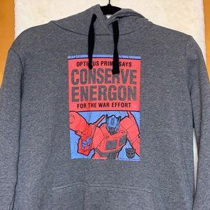 Optimus Prime Hooded Sweatshirt